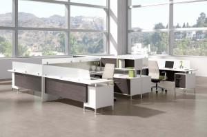 TeamWorx Desking System 236