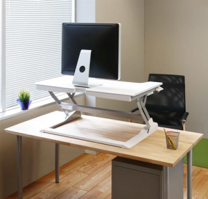 ErgoTron WorkFit-TL, Sit-Stand Desktop Conversion