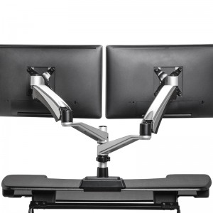 VARIDESK Dual-Monitor Arm